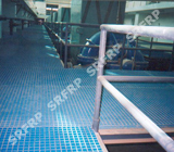 Yuqing Water Supply Plant Pump Room Corridor Platform