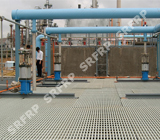 Filter Pool with Pultruded Gratings in Yan'an Refinery Wastewater Treatment Plant