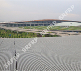 Roof Wall Grille of Beijing Capital International Airport