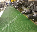 Double anti-slip grating floor in Shanxi Sinotruck
