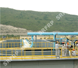 FRP Handrail Systems with Kickplate in Yan'an Refinery Plant