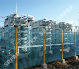 Electric Fence of Converter Stations in Heihe Sino-Russia boarder